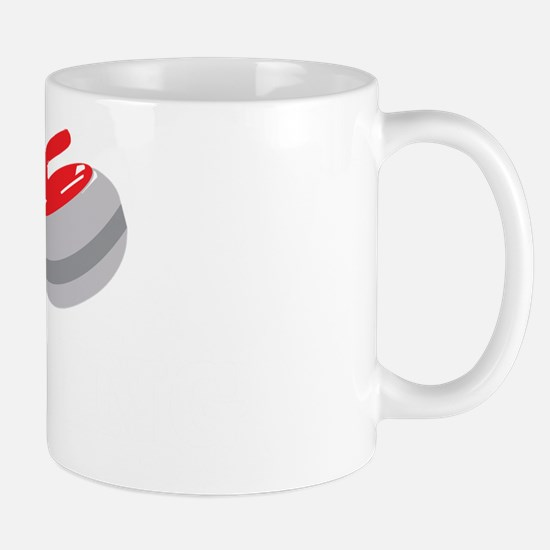 I Heart Curling Mug