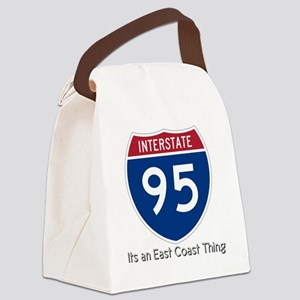 Highway95 Canvas Lunch Bag