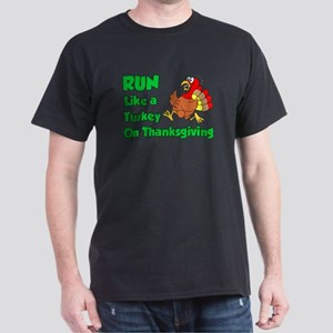 Run Turkey Thanksgiving T-Shirt