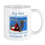 Big Red Lighthouse, Holland, MI 11 oz Ceramic Mug
