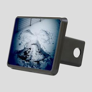 snowangel-watermarked Rectangular Hitch Cover
