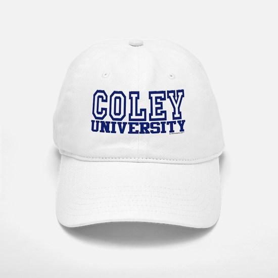 COLEY University Baseball Baseball Cap