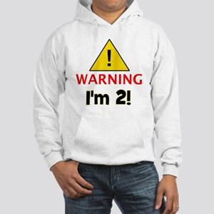 warningim2 Hooded Sweatshirt