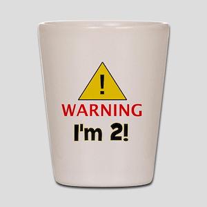 warningim2 Shot Glass