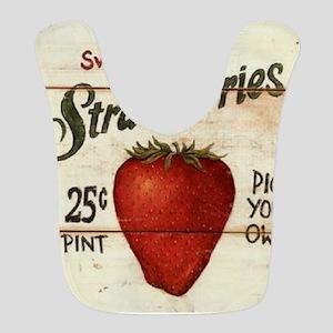 strawberries-posters Bib