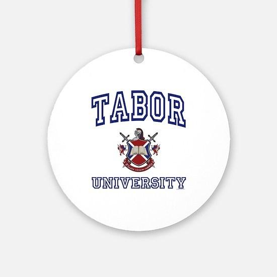 TABOR University Ornament (Round)