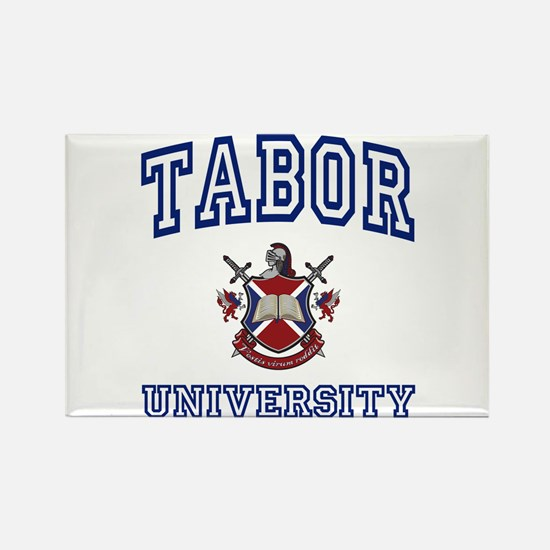 TABOR University Rectangle Magnet