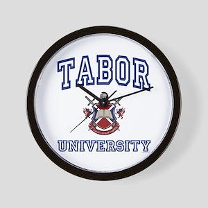 TABOR University Wall Clock