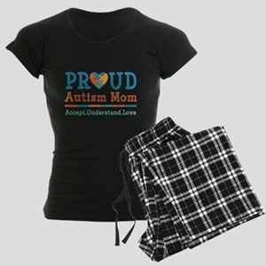 Proud Autism Mom Women's Dark Pajamas