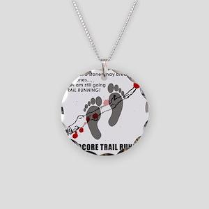 Hardcore Necklace Circle Charm