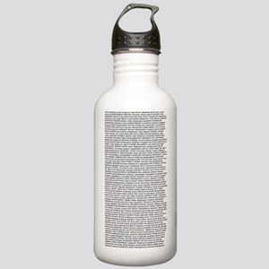 Affirmations325x6 Stainless Water Bottle 1.0L