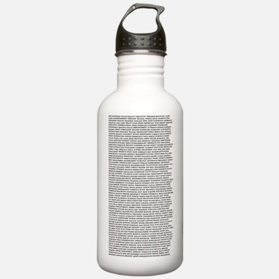 Affirmations325x6 Sports Water Bottle