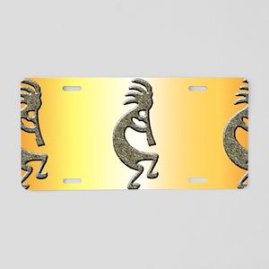 Kokopelli mug Aluminum License Plate