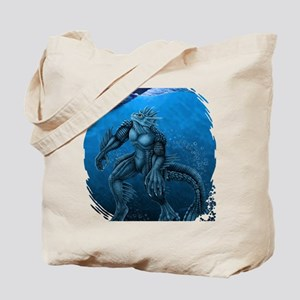 seacreatureBLUEshirt Tote Bag