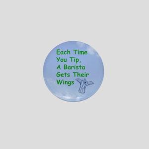 barista_button_zazzle Mini Button