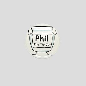 phil_label_zazzle Mini Button