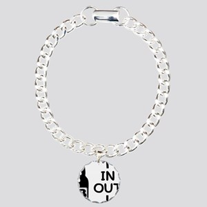 Beer In Beer Out Charm Bracelet, One Charm