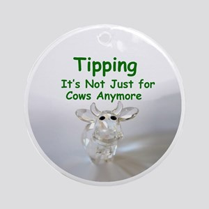 cows_button_zazzle Round Ornament