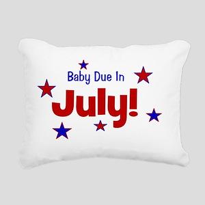 babydueinjuly_stars Rectangular Canvas Pillow