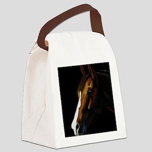 Bay Quarter Horse Canvas Lunch Bag