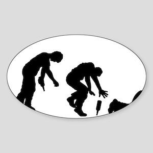Drunk Sticker (Oval)