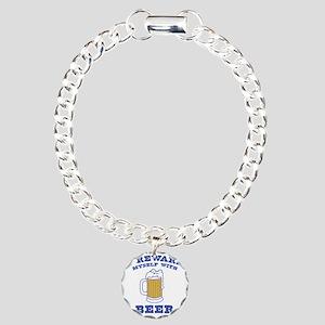 I Reward Myself With Bee Charm Bracelet, One Charm