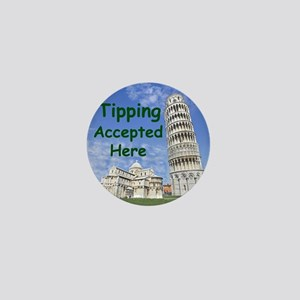 tipping_accepted_here_zazzle Mini Button