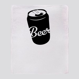 2-Beer So Much More Than Just A Brea Throw Blanket