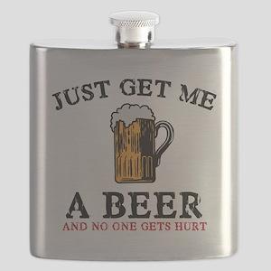Just Get Me a Beer Flask