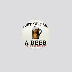 Just Get Me a Beer Mini Button