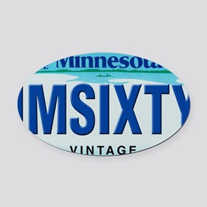 Minnesota60_2011 Oval Car Magnet