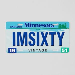 Minnesota60_2011 Aluminum License Plate