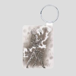 Necro Aluminum Photo Keychain