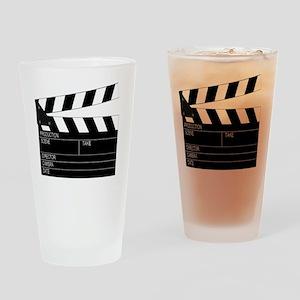 iFilm Black Drinking Glass