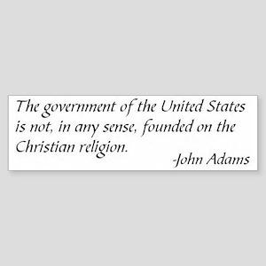 Adams Sticker (Bumper)