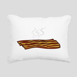 Bacon - But not Gay (dar Rectangular Canvas Pillow