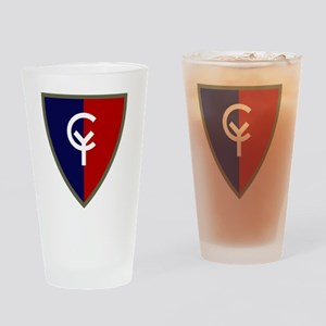 38th Infantry Division Drinking Glass