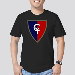 38th Infantry Division Men's Fitted T-Shirt (dark)