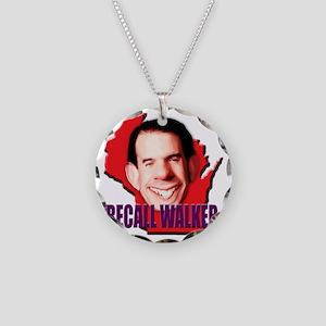 recallwalker2 Necklace Circle Charm