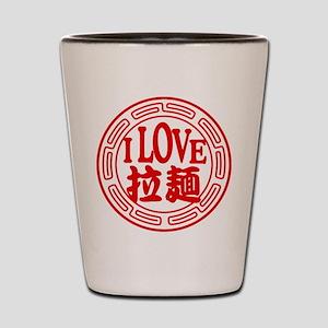 ILoveRamen Shot Glass