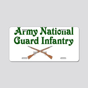 army national Aluminum License Plate
