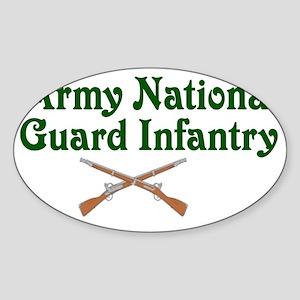 army national Sticker (Oval)