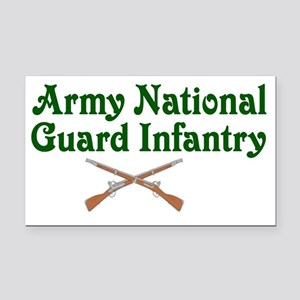 army national Rectangle Car Magnet