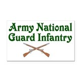 """Army national guard 3"""" x 5"""""""