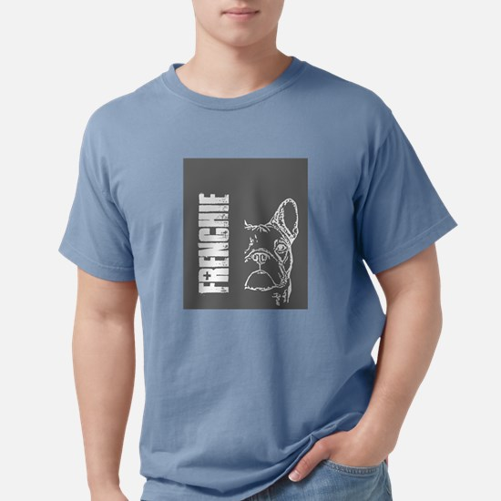 BHNW_frenchieGREY_flip_flops T-Shirt