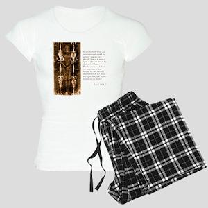 Isaiah 53-4-5 Women's Light Pajamas