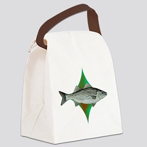 striperpocketlogo Canvas Lunch Bag