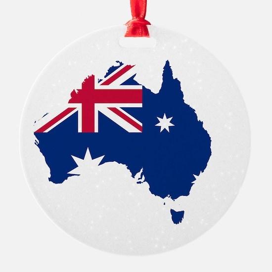 Australia (dark) Ornament