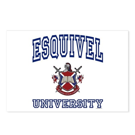 ESQUIVEL University Postcards (Package of 8)