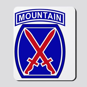 10th Infantry Division Mousepad
